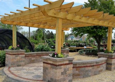 Pergola in West Bend