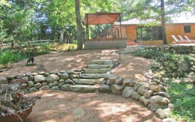 Backyard Hardscape